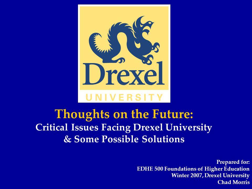 Thank you Chad Morris Phone: 215-895-1318 Email: cam83@drexel.educam83@drexel.edu
