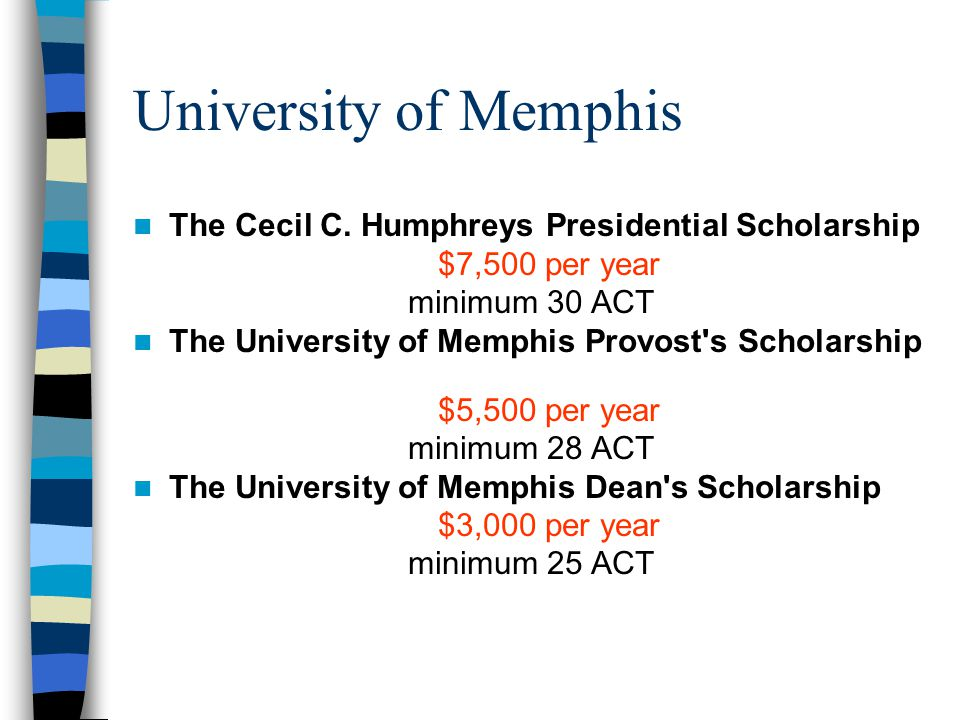 University of Memphis The Cecil C.