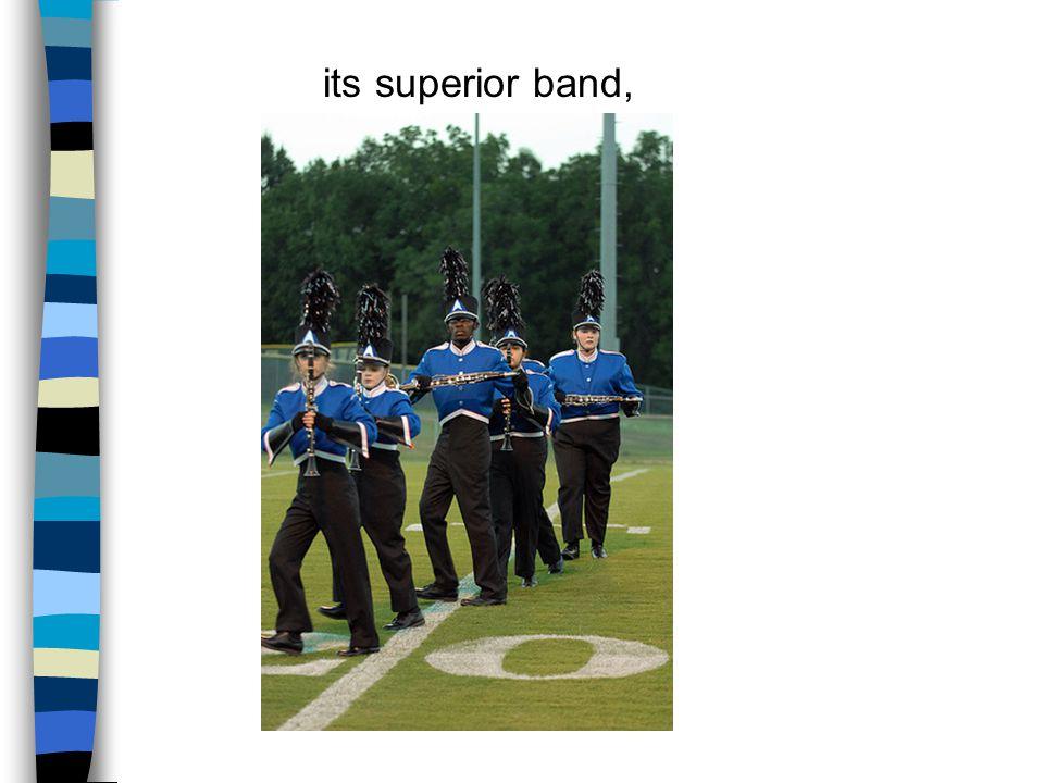 its superior band,