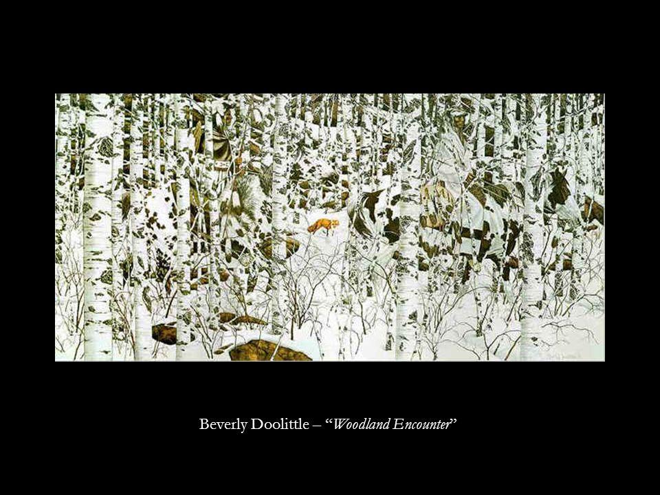 Beverly Doolittle – Woodland Encounter