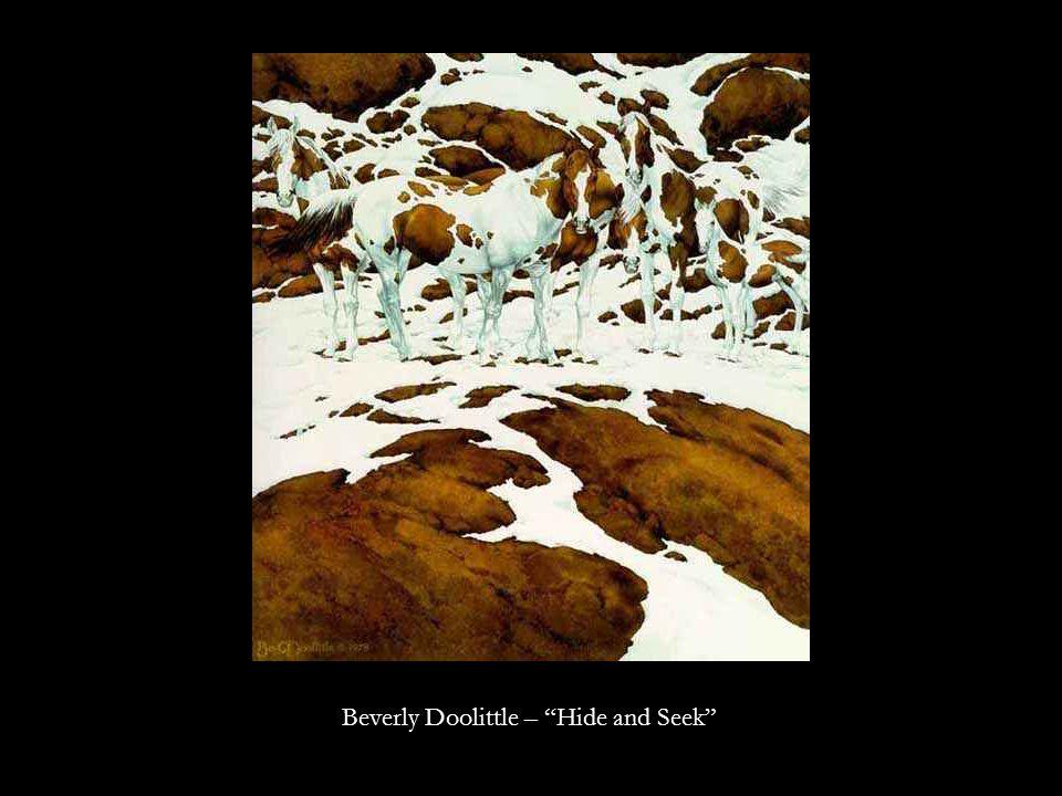 Beverly Doolittle – Hide and Seek