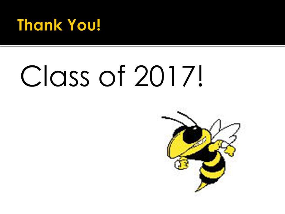 Class of 2017!