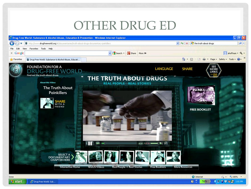 OTHER DRUG ED