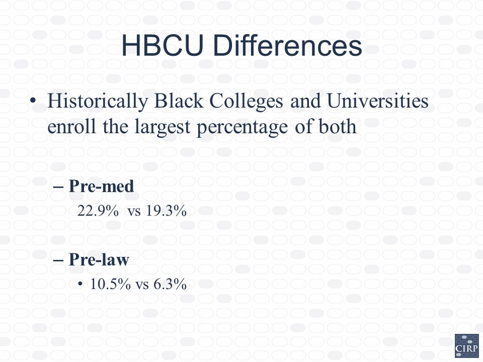 What Historically Black Colleges offer a pre law major?