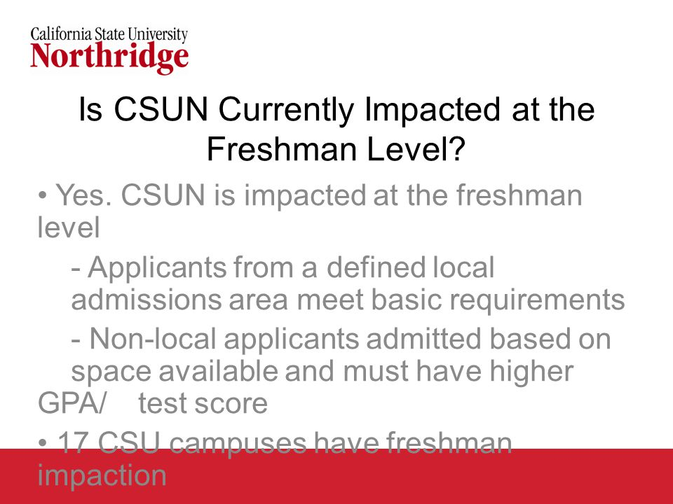 CSUN/CSUCI Degree Overlap Degrees offered by CSUCI and CSUN: Anthropology Art Biology Business: Finance Business: Management Business: Marketing Chemistry Chicana and Chicano Studies Child and Adolescent Development/Early Childhood Communication Studies Computer Science Economics English Health Sciences History Liberal Studies Mathematics Nursing Political Science Physics/Applied Physics Psychology Sociology Spanish Theatre/Performing Arts