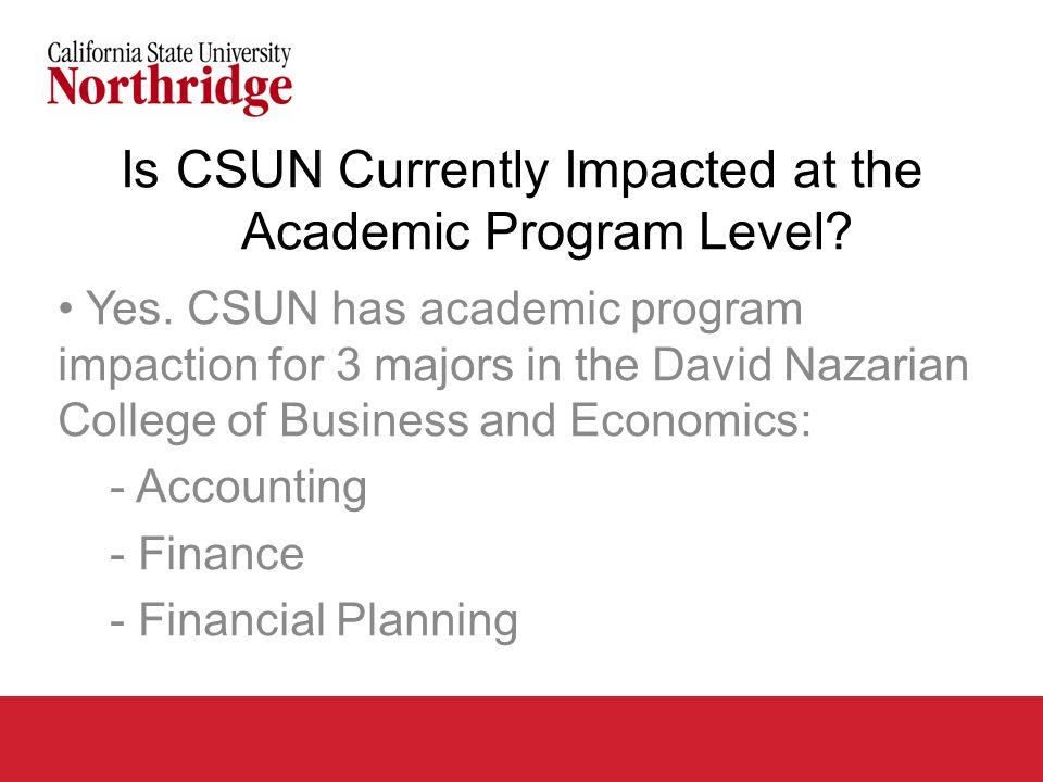 CSUN Enrollment Growth