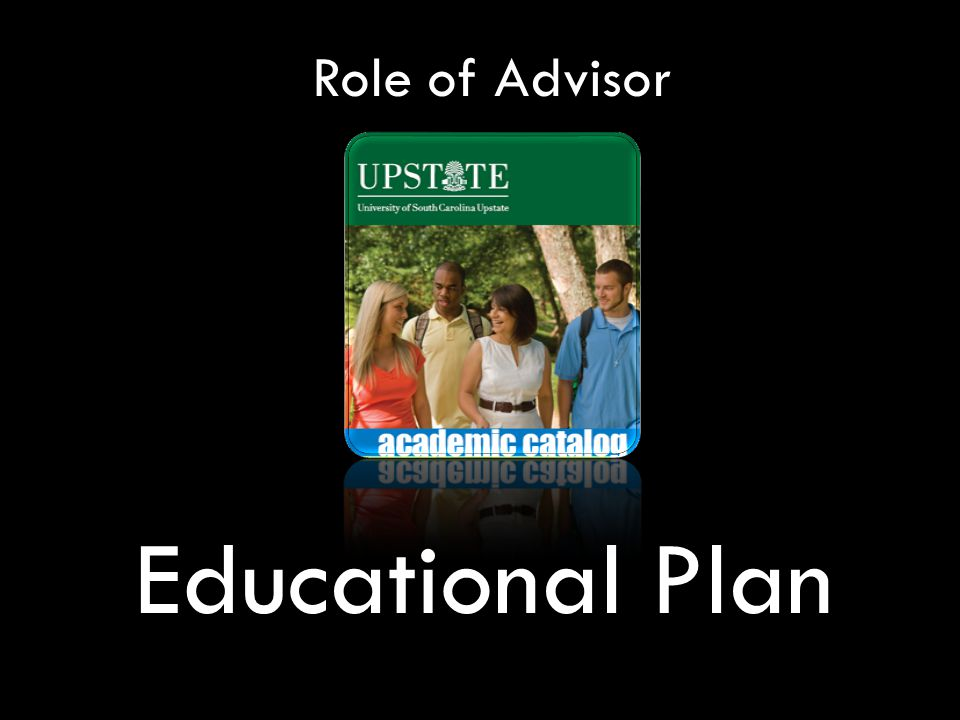 Role of Advisor Educational Plan