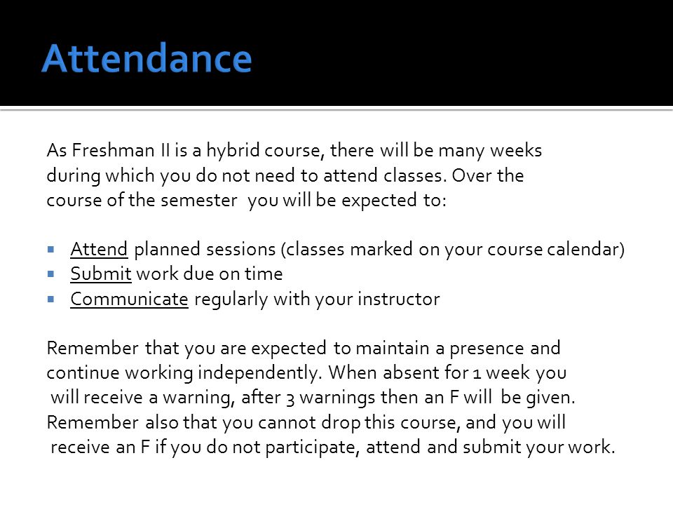 You are expected to submit all work to Turnitin on the due date as set by your instructor (not as stated on Turnitin, which has different dates for administrative purposes only).