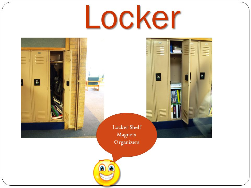 Locker Locker Shelf Magnets Organizers