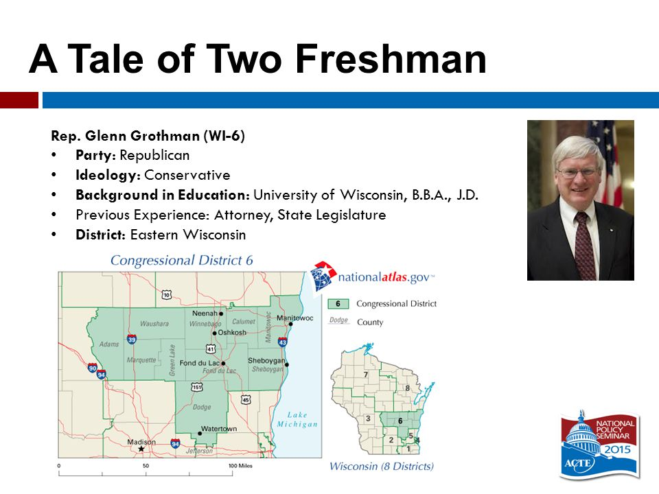 A Tale of Two Freshman Rep.