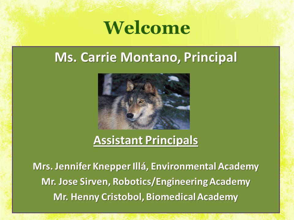 MR. SIRVEN Assistant Principal jsirven@dadeschools.net