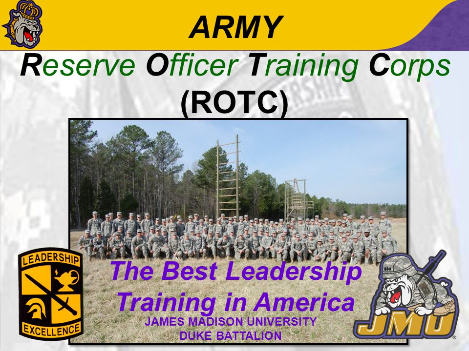 Why Army ROTC.Serve Your Country. World Class Leadership Course.