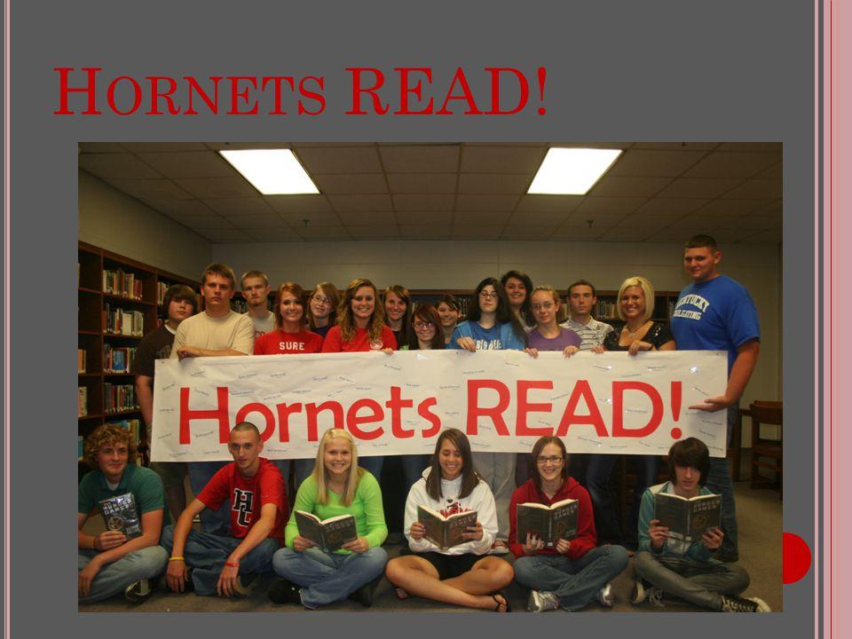 H ORNETS READ!