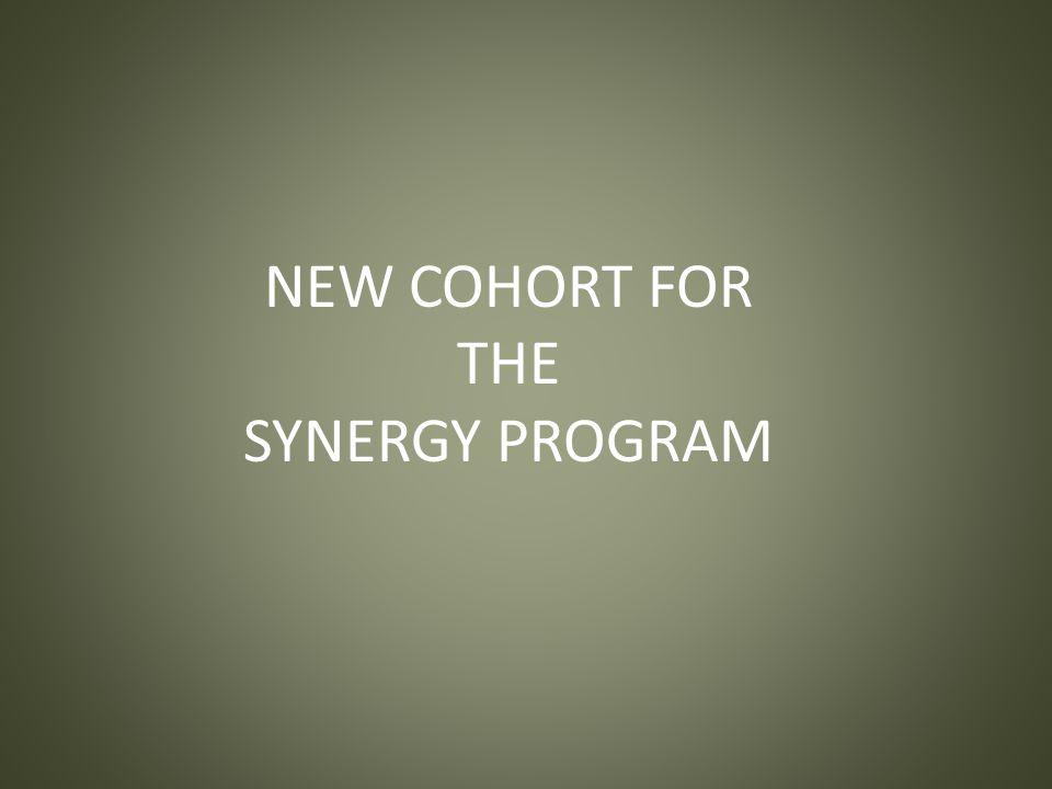 NEW COHORT FOR THE SYNERGY PROGRAM