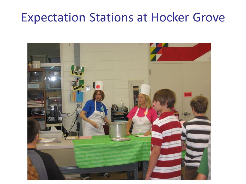 Expectation Stations at Hocker Grove
