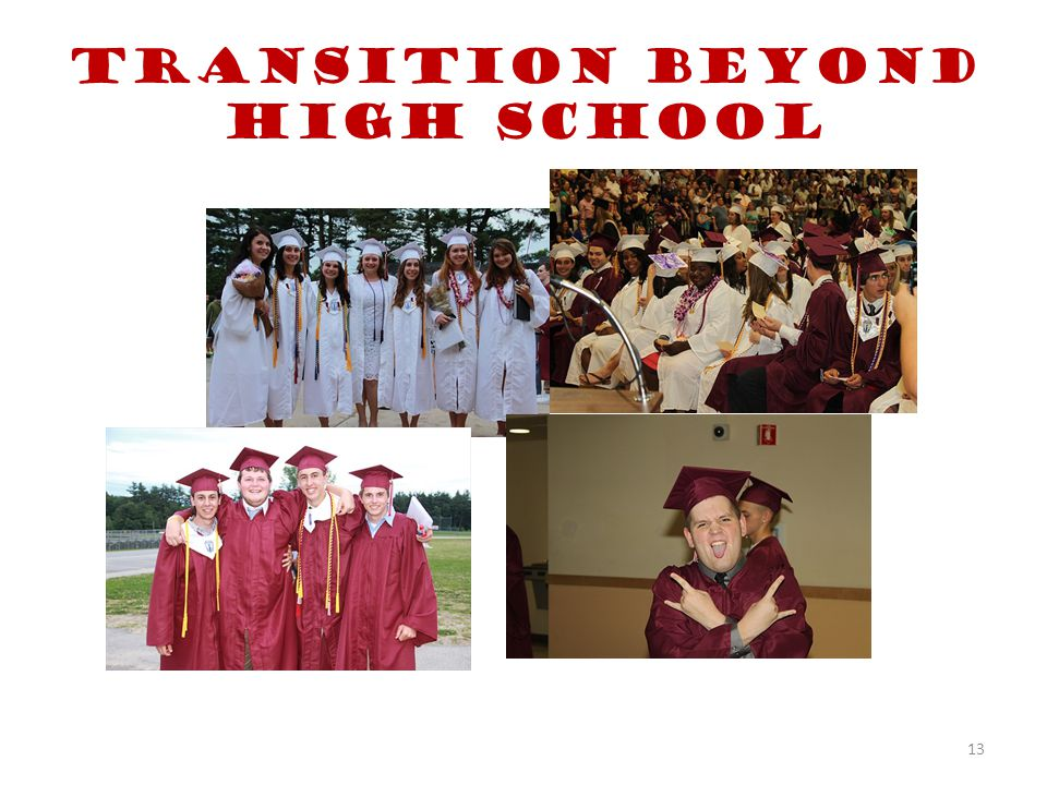 Transition beyond High School 13