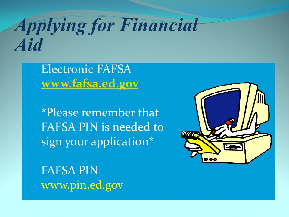 Need- Based Aid Application Procedures File the FAFSA NO LATER than March 15, 2013 at; Include NJIT Institutional Code – 002621 - on the FAFSA; File FAFSA electronically at www.fafsa.ed.gov.www.fafsa.ed.gov Submit additional verification paperwork no later than April 30 th verification process Pay bill by August (bills generated late July)Federal