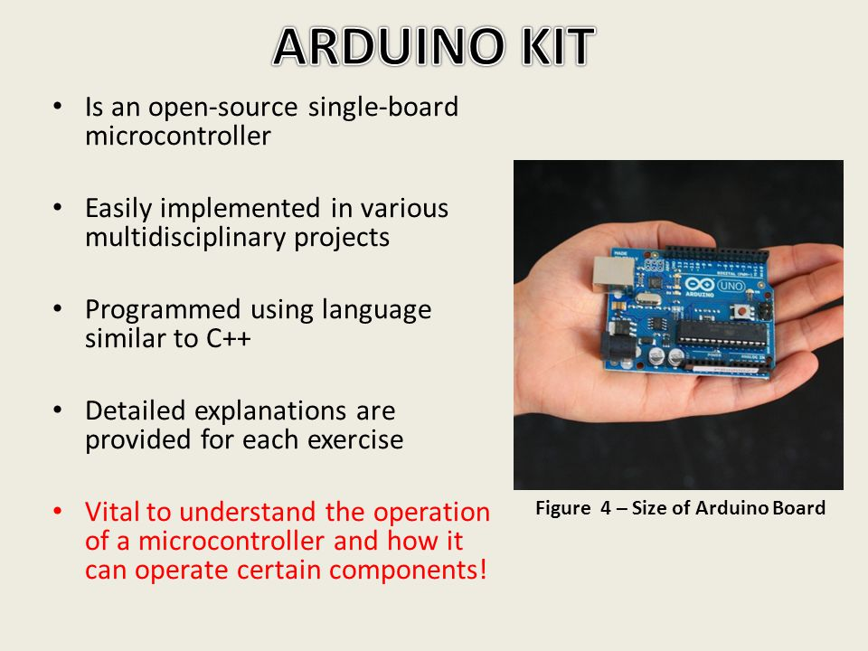 Is an open-source single-board microcontroller Easily implemented in various multidisciplinary projects Programmed using language similar to C++ Detai