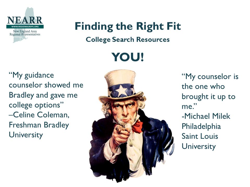 College Search Resources YOU.