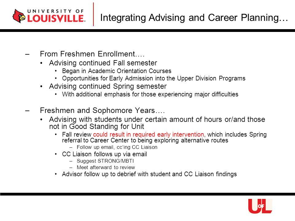 –From Freshmen Enrollment….