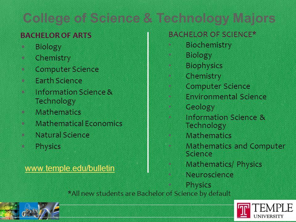 Bachelor of Arts vs.