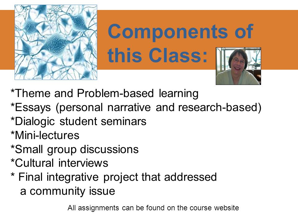 Understanding and Constructing the Classroom as Container Designing the elements of the course to help students experience the different levels of a container: 1.Politeness - Shared Monologues 2.Shared Experience -- Moving from 'Me' to 'We' 3.Reflective Dialogue – Inquiry & Analysis 4.Generative Dialogue – Making Meaning Together Container Concept as four quadrants from William Isaacs.