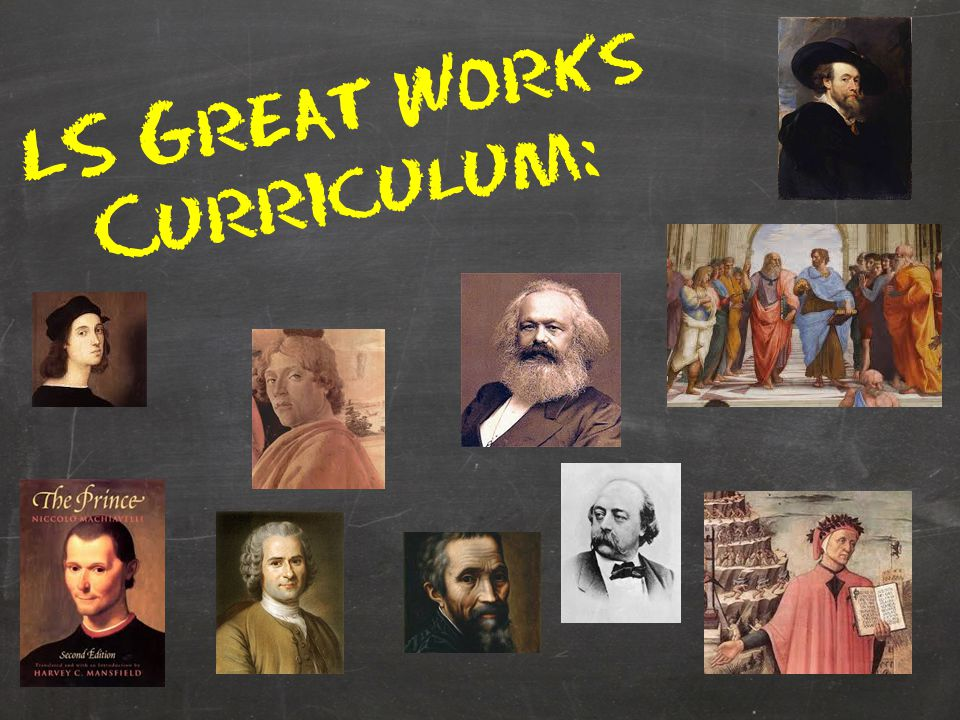 LS Great Works Curriculum: