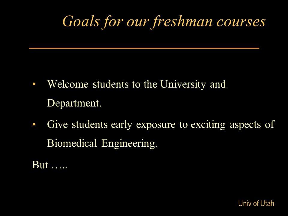 Univ of Utah But …..