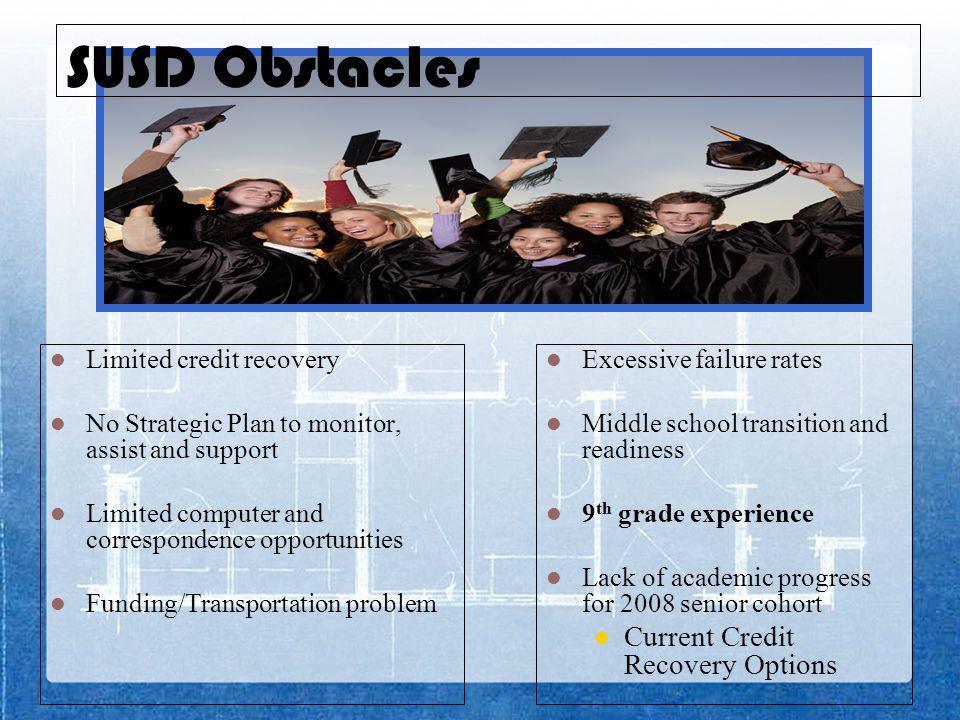 SUSD can make a statement on dropout prevention and improving the graduation rate not only in Arizona but in the nation