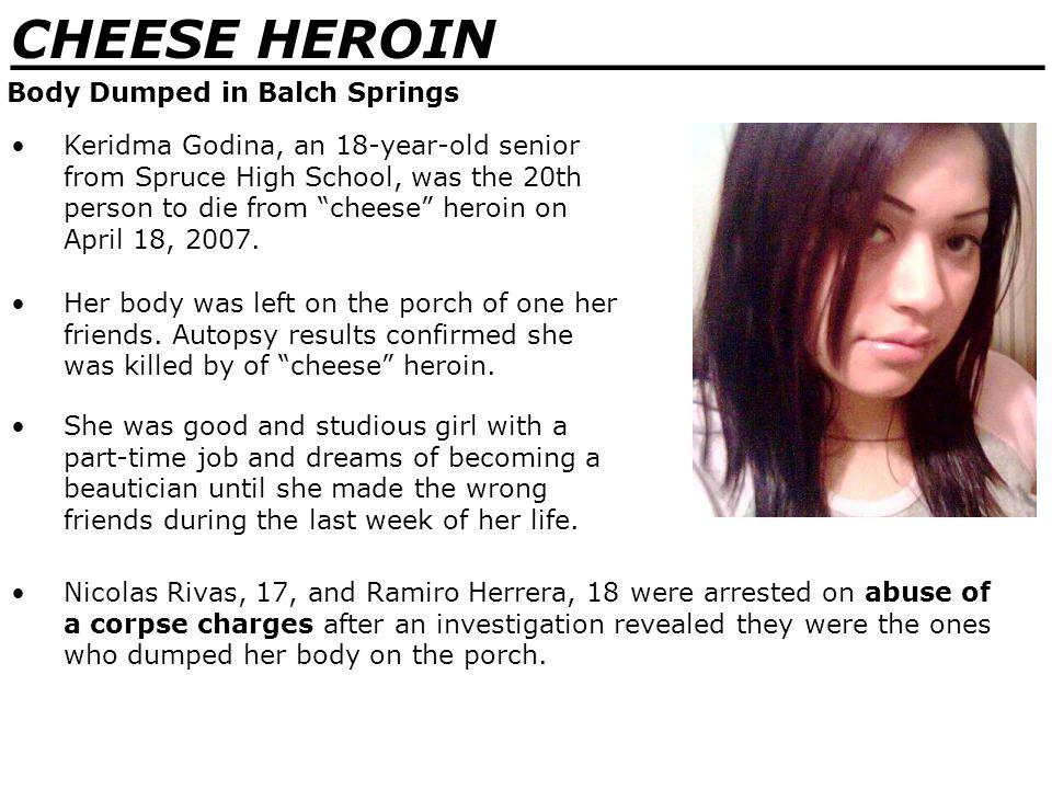 _______________________________ CHEESE HEROIN Cheese Heroin in Print