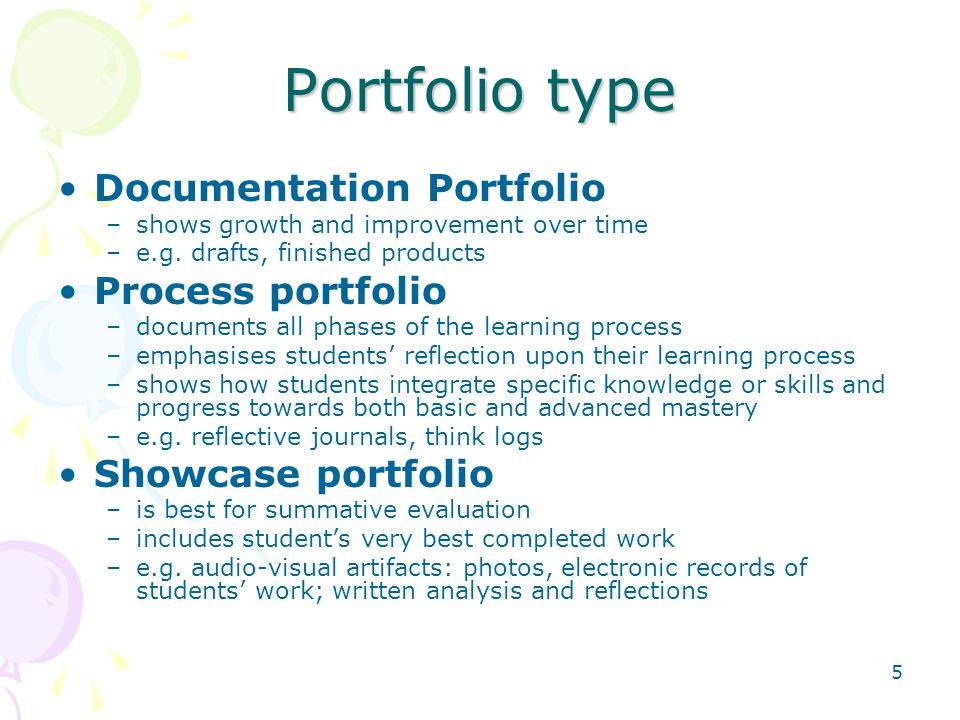 16 University in Taiwan: Example 4 Using Portfolio as a Learning Tool in Freshman English Courses Application 1