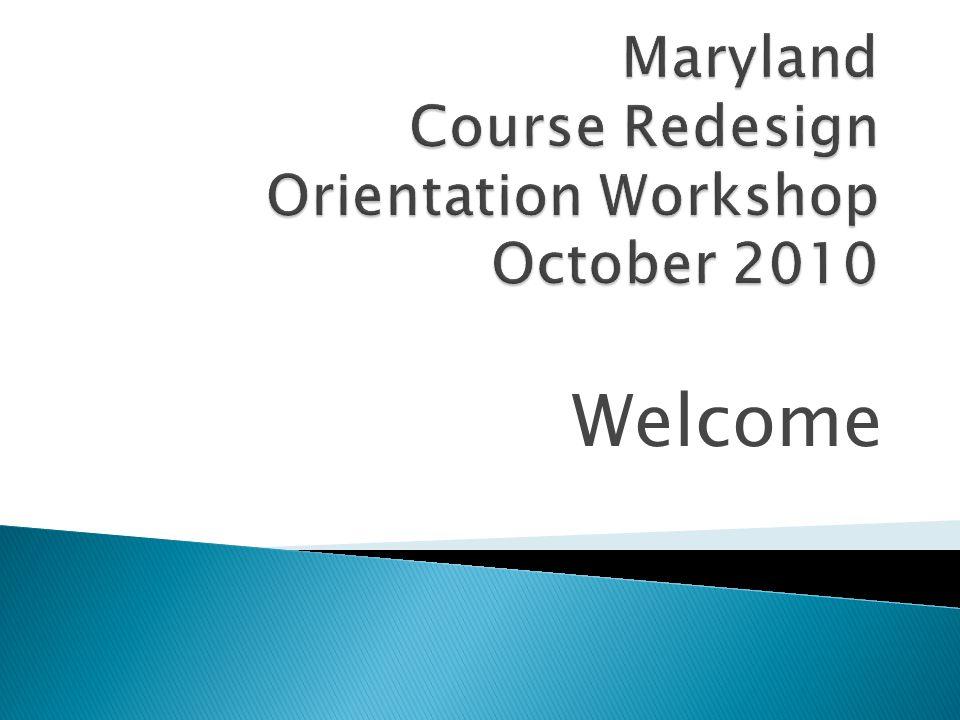 University of Maryland Eastern Shore Jennifer L. Hearne, Ph.D. October 7-8, 2010