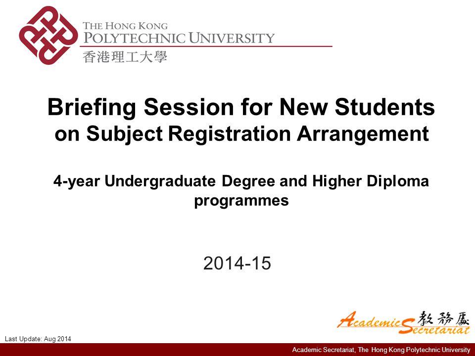 Academic Secretariat, The Hong Kong Polytechnic University Q & A