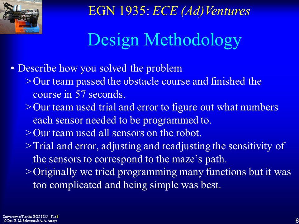 EGN 1935: ECE (Ad)Ventures 6 University of Florida, EGN 1935 – File 6 © Drs.