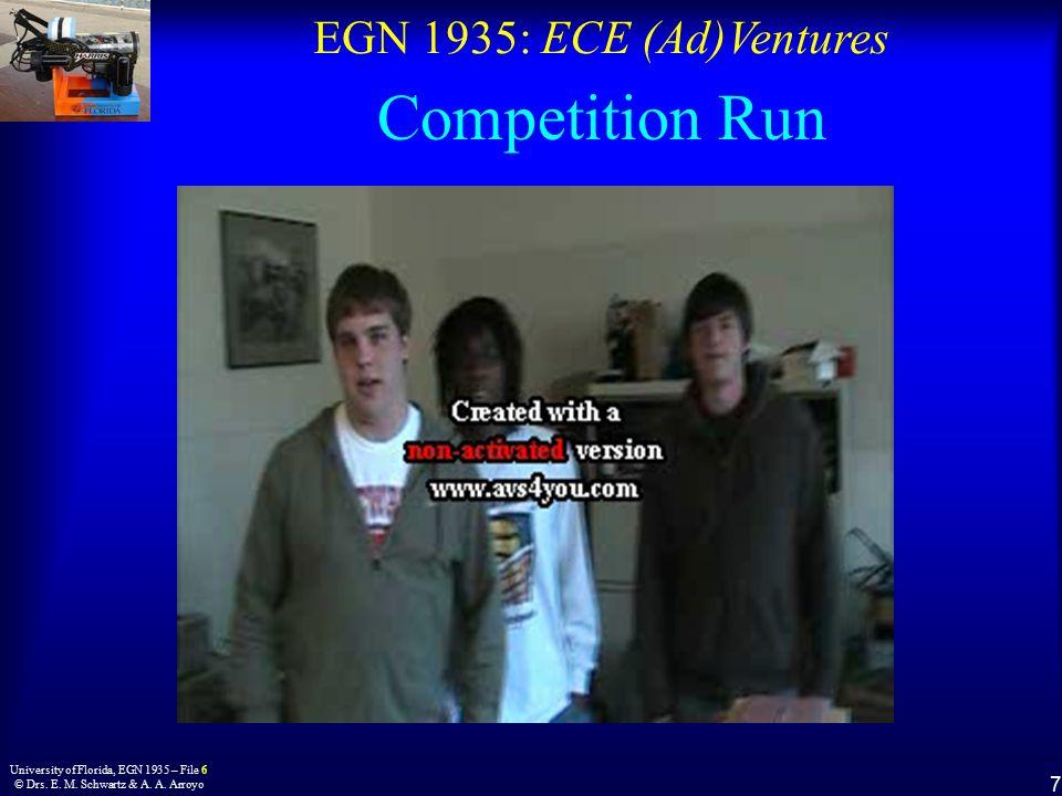 EGN 1935: ECE (Ad)Ventures 7 University of Florida, EGN 1935 – File 6 © Drs.