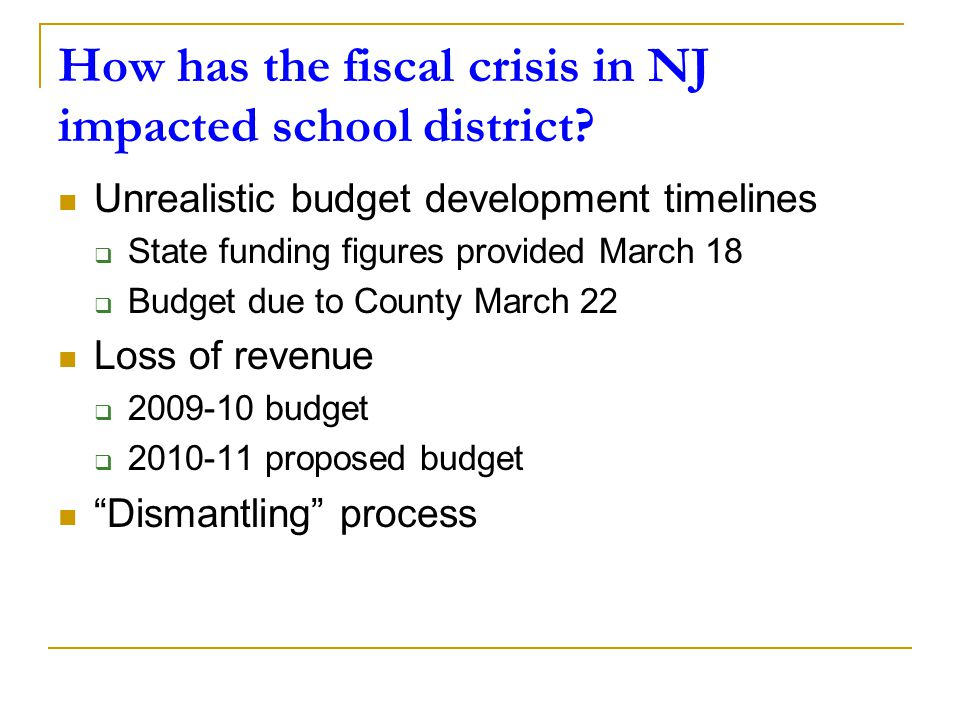 How is district staffing being impacted.