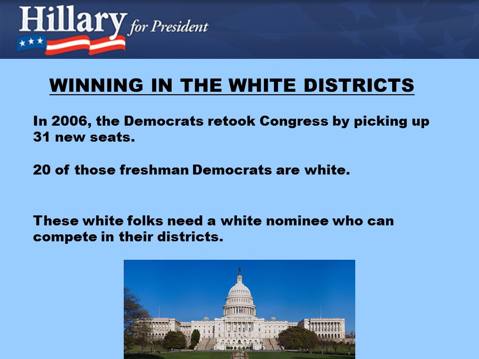 In 2006, the Democrats retook Congress by picking up 31 new seats.