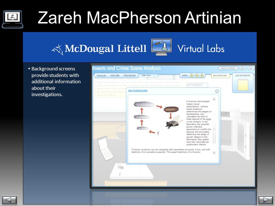 Zareh MacPherson Artinian.