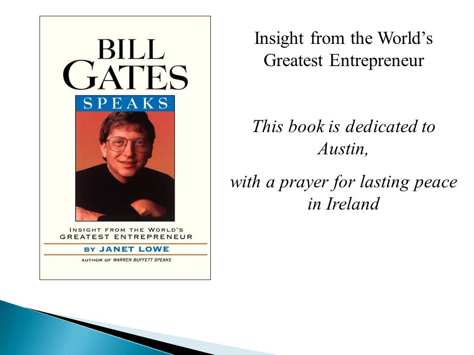  1955William Henry Gates was born  1967Enrolled in the Lakeside School in Seattle  1973Enrolled in Harvard University  1975Bill Gates and Paul G.