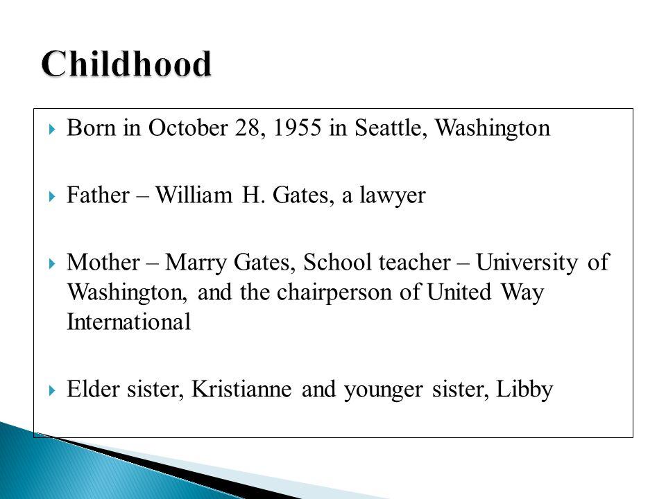  On January 1, 1994 Gates married Melinda French