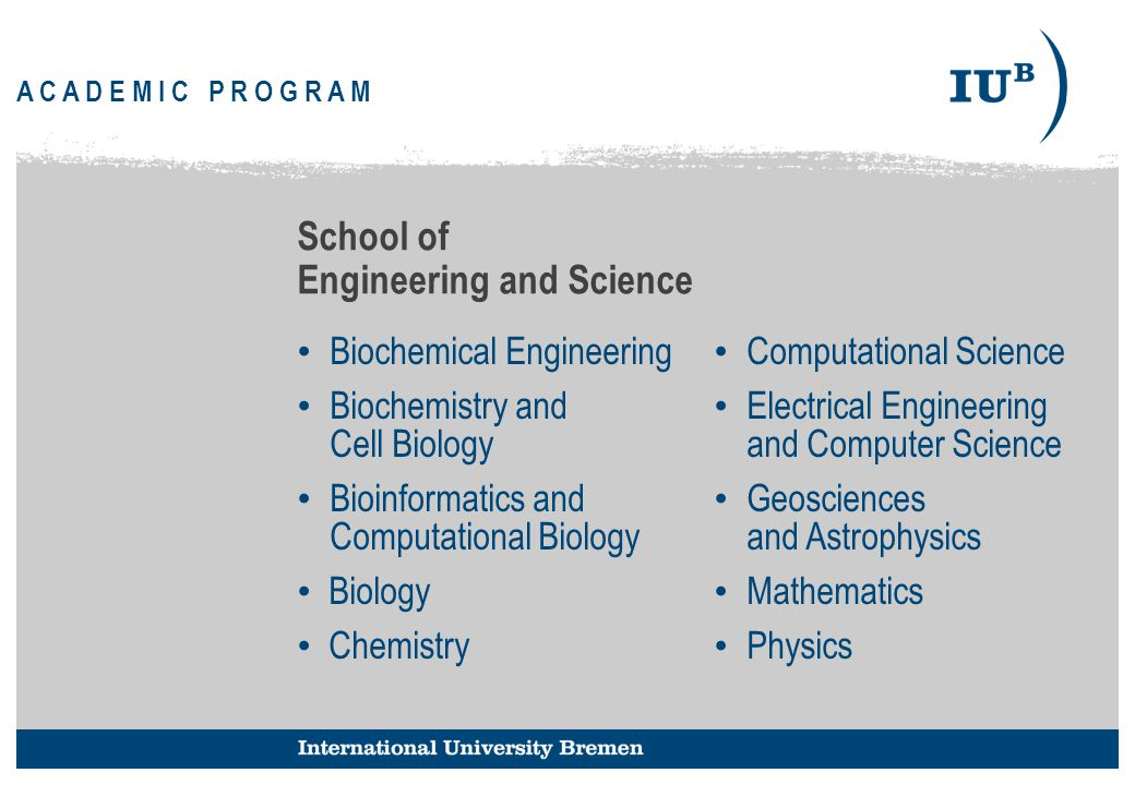 99 School of Engineering and Science Biochemical Engineering Biochemistry and Cell Biology Bioinformatics and Computational Biology Biology Chemistry