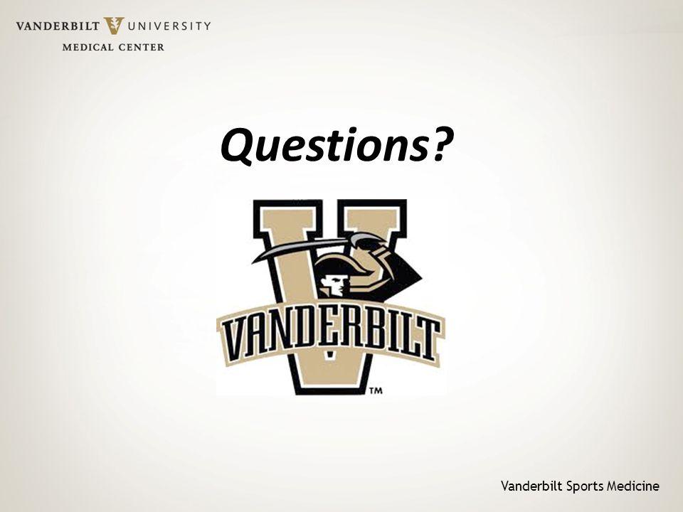 Vanderbilt Sports Medicine Questions?
