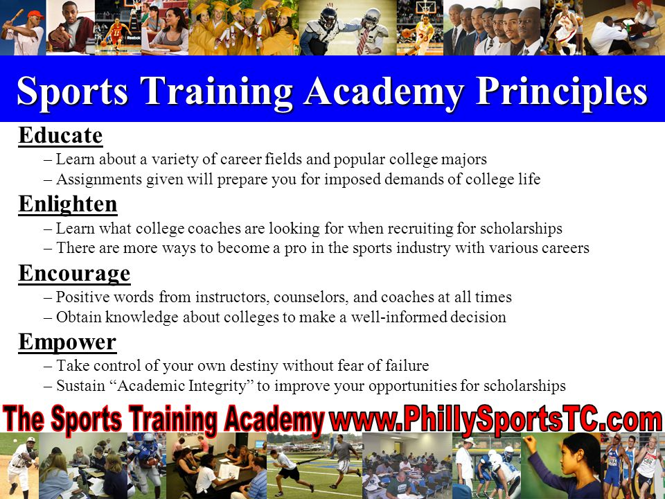 Prospective Student-Athletes Must have a minimum 2.0 grade point average In good standing in grades 7 – 12, boys / girls Currently on any sports team roster Parental Information must be completed Complete the 8-week enrichment program Attend all academic and athletic training sessions