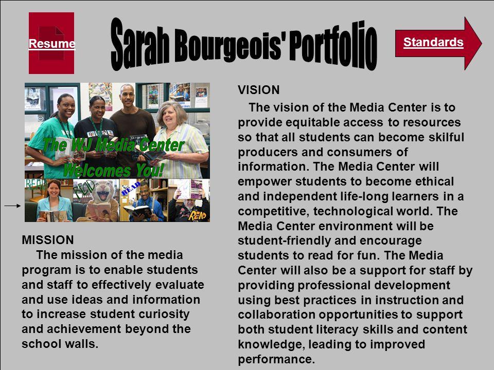 Sarah Bourgeois' Exit Portfolio Welcome to my SLM Portfolio.