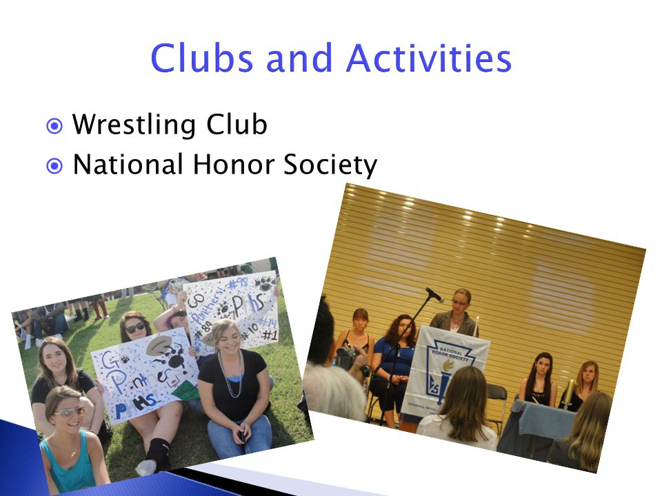  Wrestling Club  National Honor Society