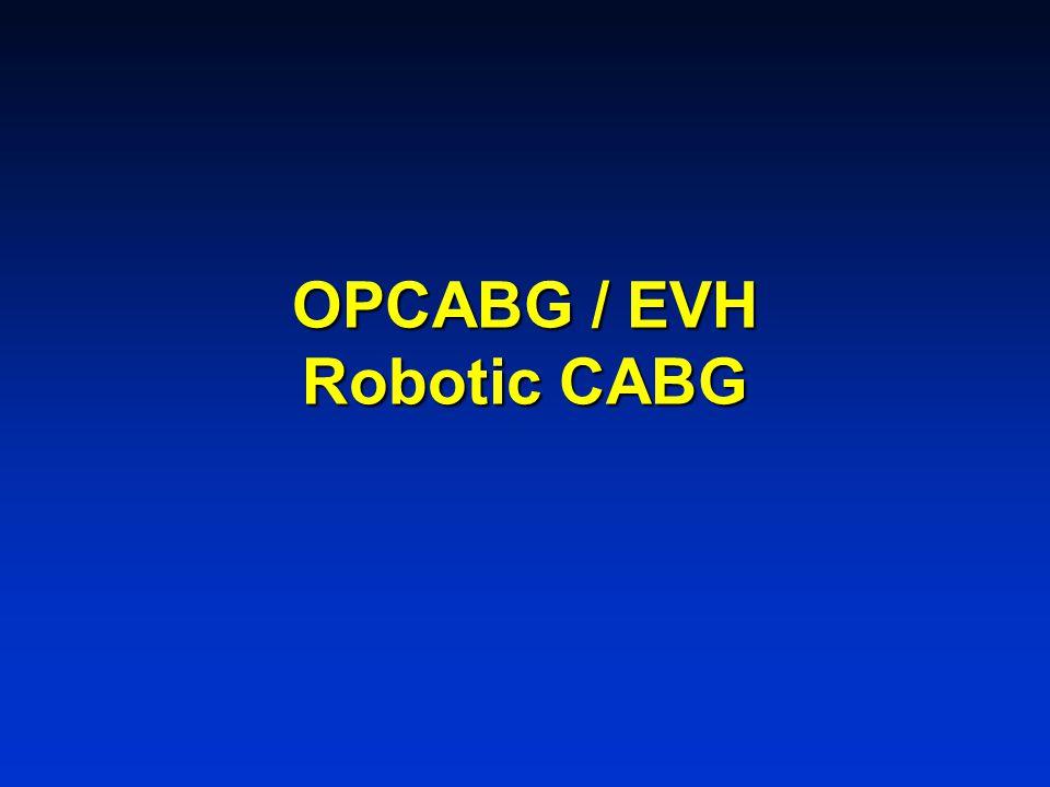 OPCABG / EVH Robotic CABG