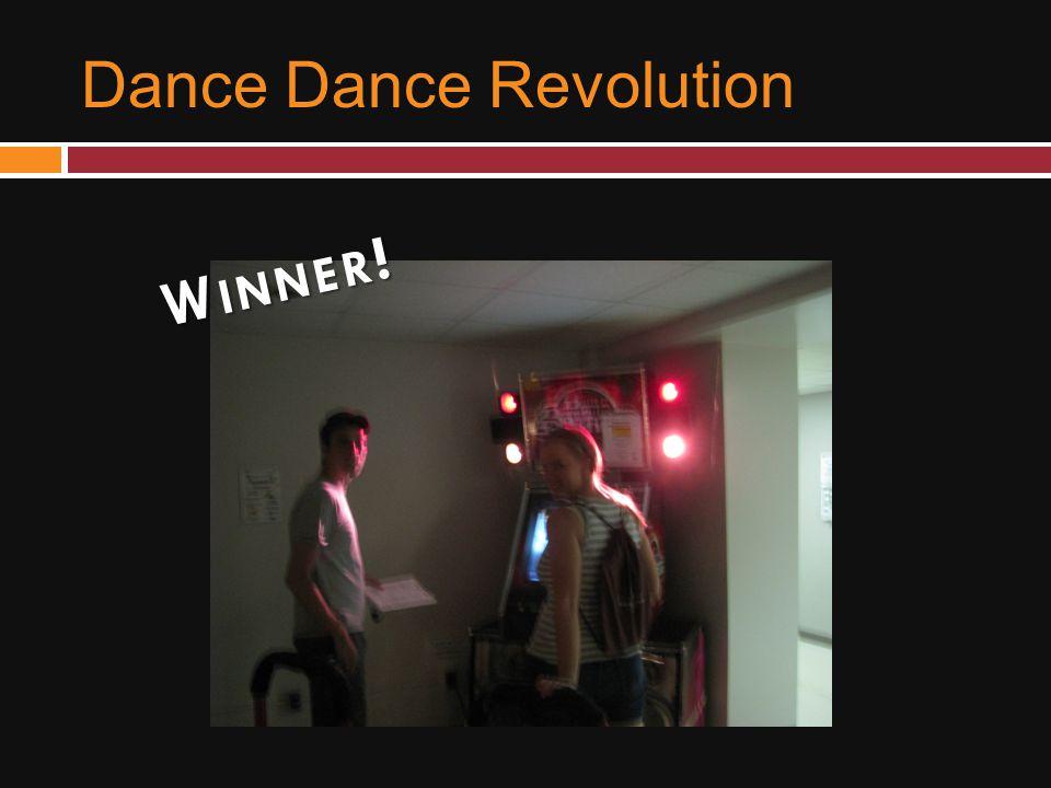 Dance Dance Revolution W INNER !