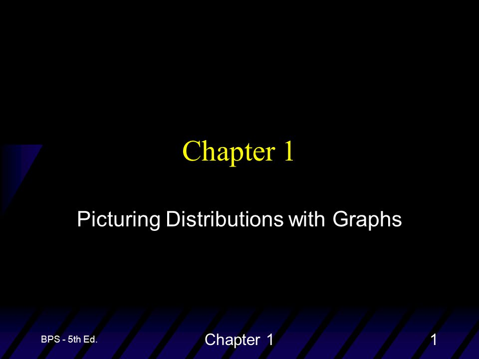 BPS - 5th Ed. Chapter 11 Picturing Distributions with Graphs