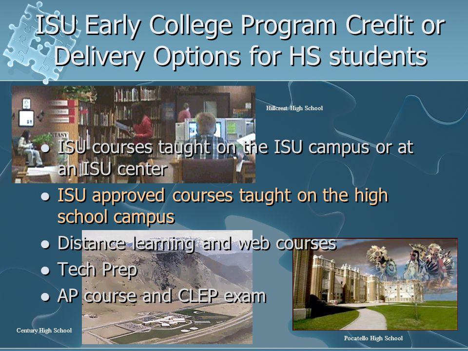 ECP Classes Visit ISU Main Campus ISU Campus Visit/Tour Morning Academic Activity: Language Lab Cadaver Lab Library Research Workshop Etc.