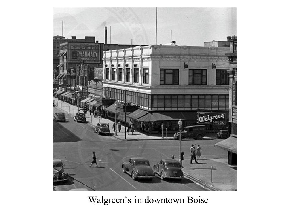Walgreen's in downtown Boise